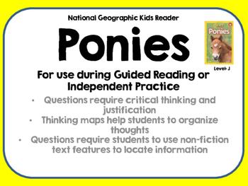 National Geographic Kids Ponies Reader GRL J
