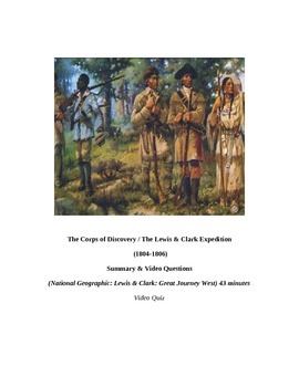 "Louisiana Purchase: ""LEWIS & CLARK: Great Journey West"" VI"