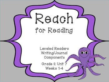 National Geographic Reach for Reading Leveled Readers Writ