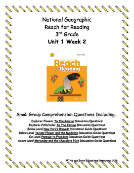 National Geographic Reach for Reading. Unit 1 Week 2 Small
