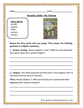 National Geographic Reach for Reading. Unit 7 Week 1 Vacat
