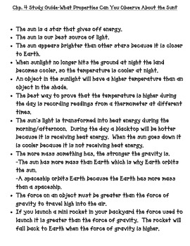 National Geographic Science Third Grade Earth Science Chap