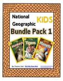 National Geographic Kids Bundle Pack 1 {Tigers, Monkeys, Planets}