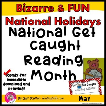 National Get Caught Reading Month (May)