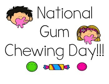 National Gum Adjectives