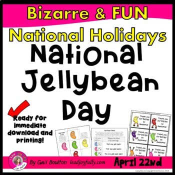 National Jelly Bean Day (April 22nd)