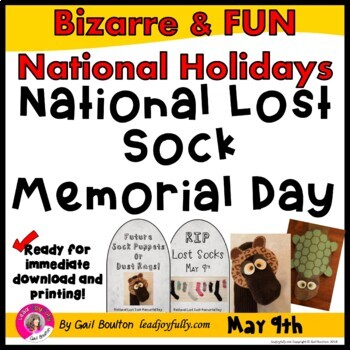 National Lost Sock Memorial Day (May 9th)