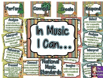 National Music Standards - CAMPING Theme