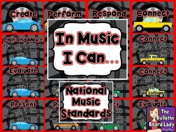 National Music Standards - Racing Theme