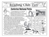 National Parks Two-Page Activity Set