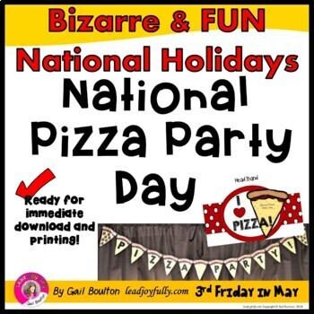 National Pizza Party Day (May 20th)