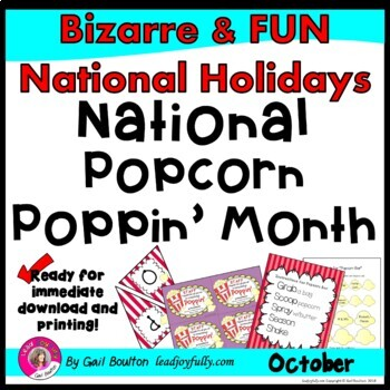 National Popcorn Poppin' Month (October)