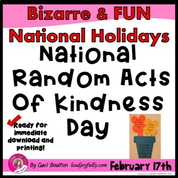 National Random Acts of Kindness Day (February 17th)