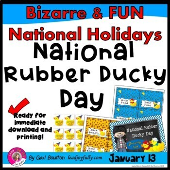 National Rubber Ducky Day (January 13th)