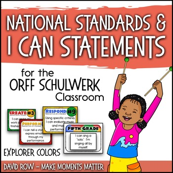 National Standards and I Can Statements - Explorer Color Scheme