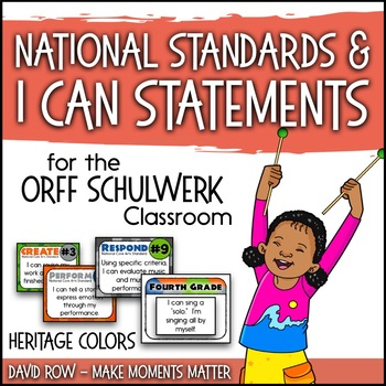 National Standards and I Can Statements - Heritage Color Scheme