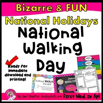 National Walking Day (April 6th)