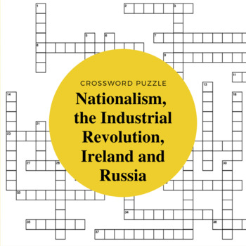 Nationalism, the Industrial Revolution, Ireland and Russia