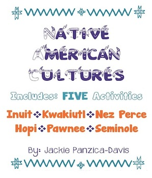 Native American 5 Activities: Inuit, Kwakiutl, Nez Perce,