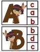 Native American Alphabet Clip Cards