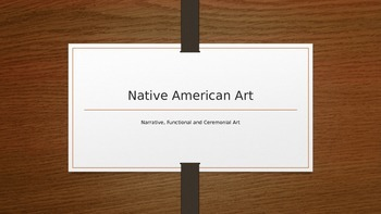 Native American Art Powerpoint