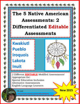 Native American Assessment: A Modified Assessment for the