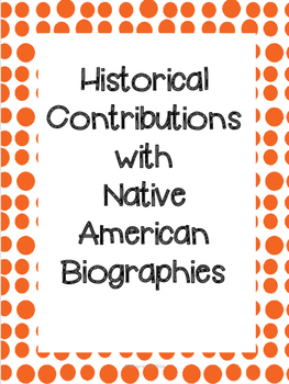 Native American Biographies & Historical Impact