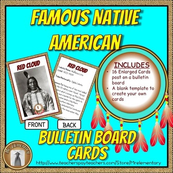 Famous Native American Bulletin Board