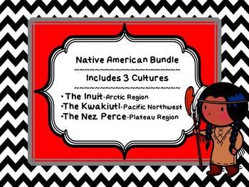 Native American Bundle 1- Inuit, Kwakiutl, & Nez Perce