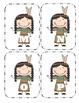 Native American Capital Alphabet Flash Cards