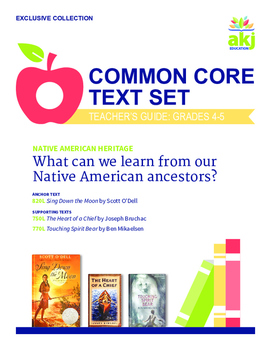 Native American Common Core Text Set