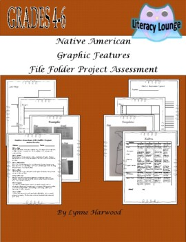 Native American File Folder Project with Graphic Features