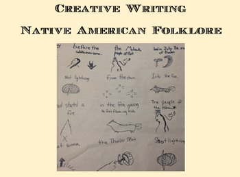 Native American Folklore :  Creative Writing:  PRINTABLE