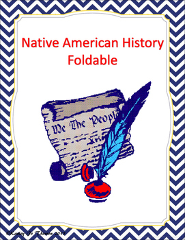 Native American History Foldable