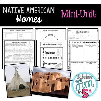 Native American Homes Mini-Unit