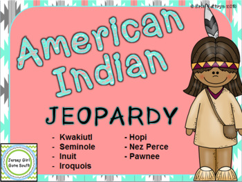 Native American Jeopardy Review Game