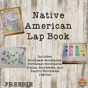 Native American Lap Book