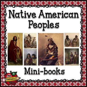 Native American Peoples Mini-books