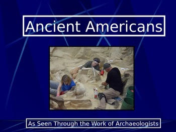 Native American PowerPoint Series-Mammoths, Archaeology, A