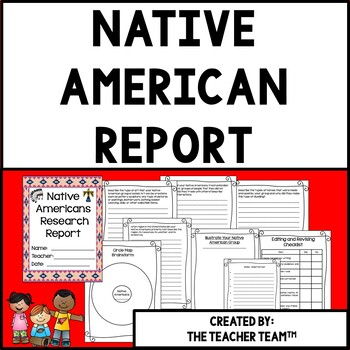 Native American Research Report