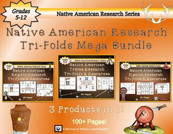 Native American Research Tri-Folds Mega Bundle
