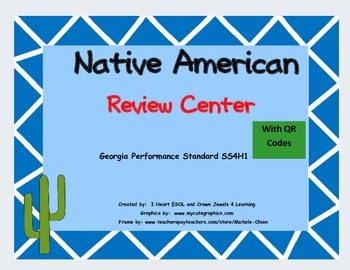 Native American Review Center with QR Codes Georgia Perfor