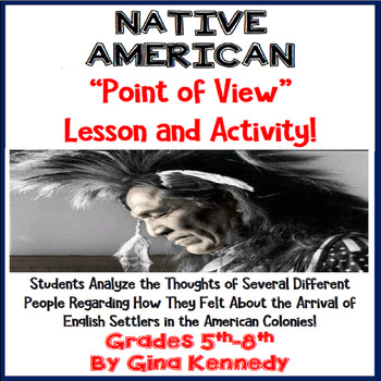 Learn Through the Eyes of a Native American, Point of View