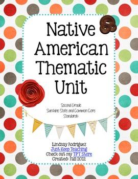 Native American Thematic Unit- mini-lessons, Social Studie