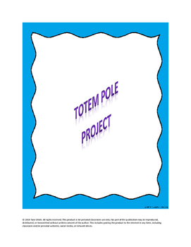 Native American Totem Pole Project