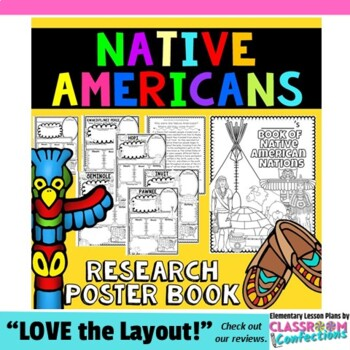 Native Americans Activity Posters