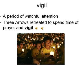 Native American Vocabulary PowerPoint Presentation