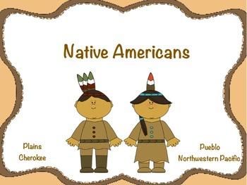 Native Americans: Flipchart & Worksheets