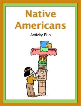 Native Americans Activity Fun
