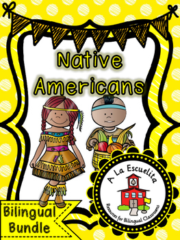 Native Americans Bilingual Bundle